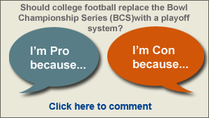 Share your thoughts on college football and read, vote on, and reply to existing comments. Join the debate.